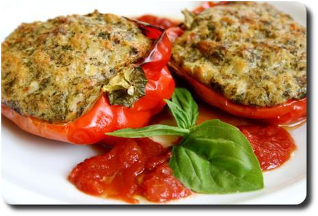Poivrons farcis fa on du sud recettes a cuisiner le - Cuisiner les poivrons ...