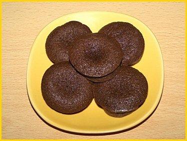bricks fondantes au chocolat