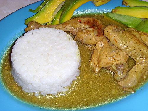 Poulet en sauce la dominicaine recettes a cuisiner le meilleur de la cuisine la port e - Cuisiner le poulet en sauce ...