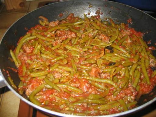 Haricots verts la bolognaise recettes a cuisiner - Cuisiner les haricots verts ...