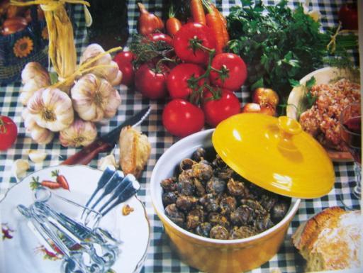 Escargots la charentaise recettes a cuisiner le - Cuisiner les escargots ...