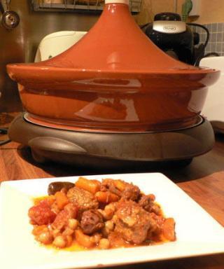 Tajine de boulettes de boeuf et merguez recettes a - Comment cuisiner des boulettes de boeuf ...