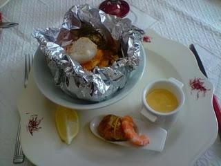 Choucroute de la mer en papillote recettes a cuisiner - Cuisiner choucroute cuite ...