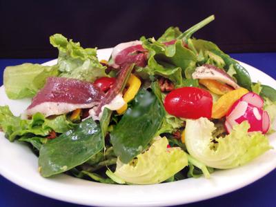Futilit s cuisine salade estivale au canard - Cuisiner un filet de canard ...