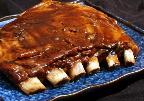 Travers de porc au curry et paprika barbecue recettes a cuisiner le meilleur de la - Cuisiner travers de porc ...