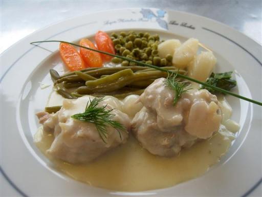 Blanquette de veau aux pleurotes et l gumes de saison - Cuisiner des pleurotes ...