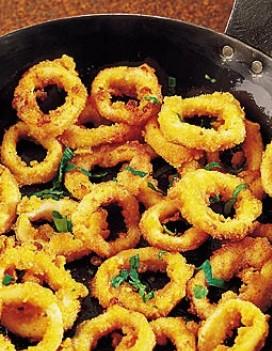 Calamars frits recettes a cuisiner le meilleur de la cuisine la port e de tous - Comment cuisiner les calamars ...