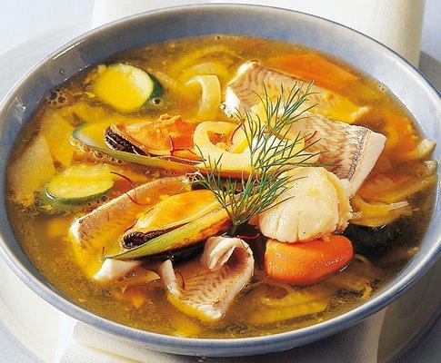 Soupe de poisson au safran recettes a cuisiner le - Cuisine soupe de poisson ...