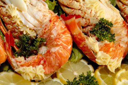 Queue de langouste r tie recettes a cuisiner le for Cuisine queue de langouste